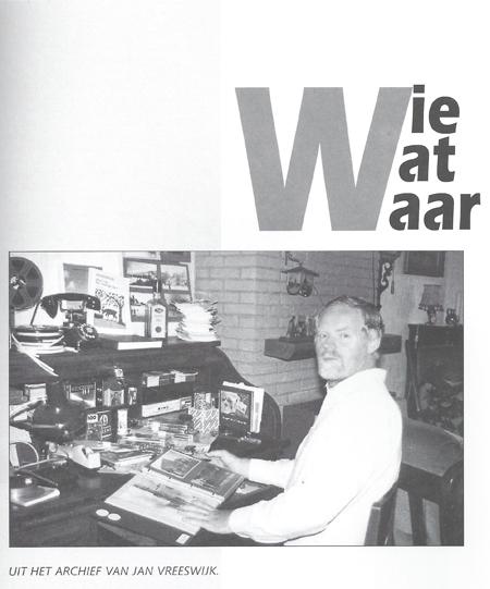 Wie Wat Waar boeken van Jan Vreeswijk